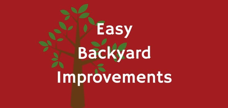 Easy Backyard Improvements