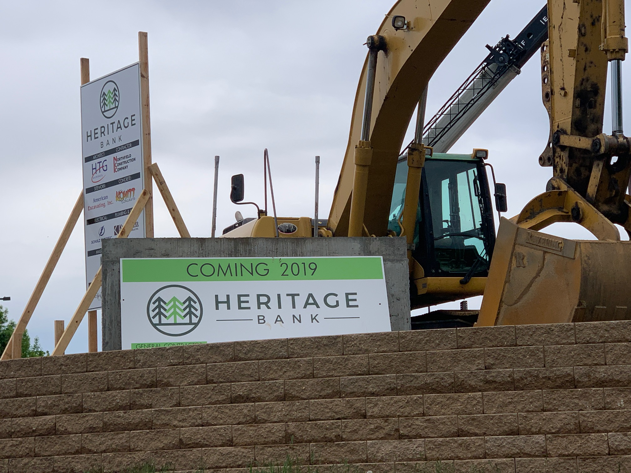 Project Update: Heritage Bank