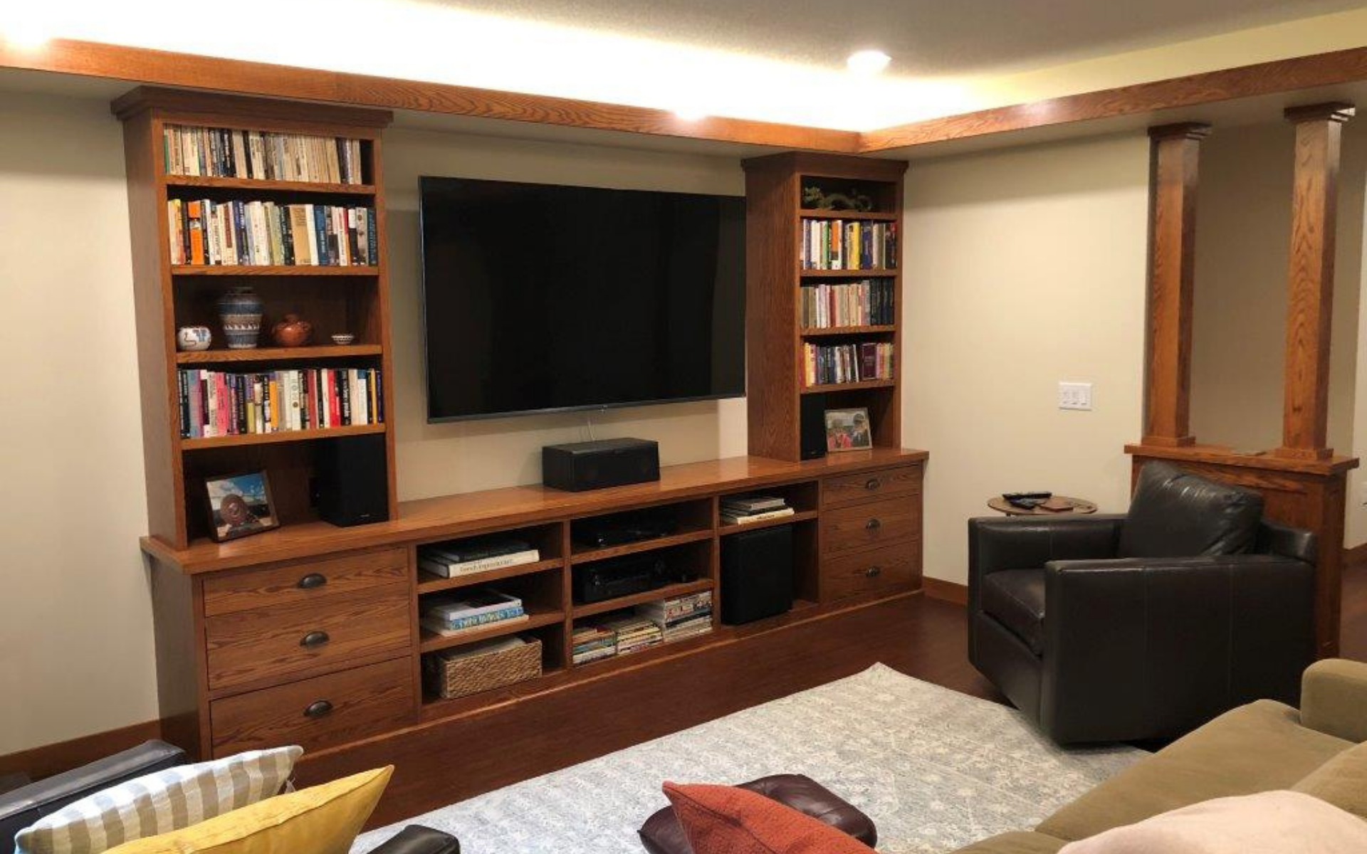 Home Theatre: The Before and After Difference